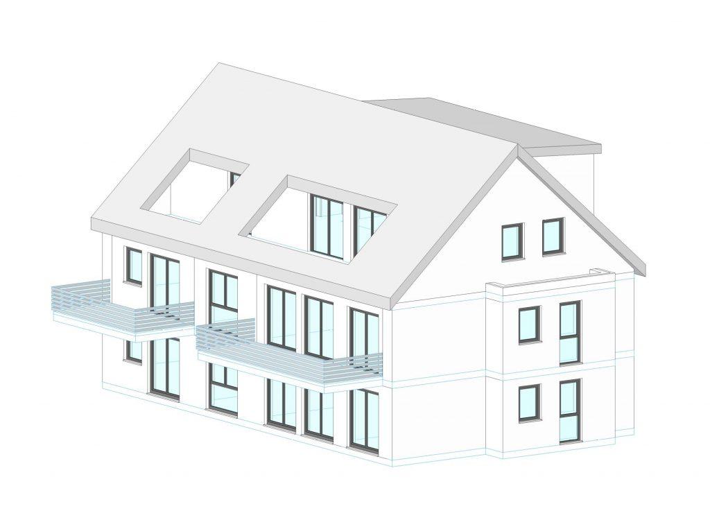 Müller Massiv- und Holzbau: Mehrfamilienhaus Oberreichenbach
