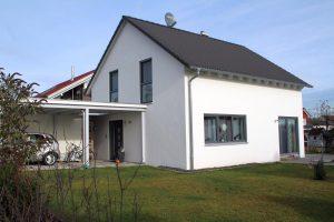 Modernes KfW 55 Haus