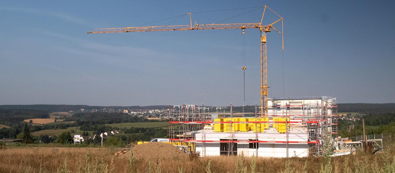 Neubau mit Müller Massiv- und Holzbau