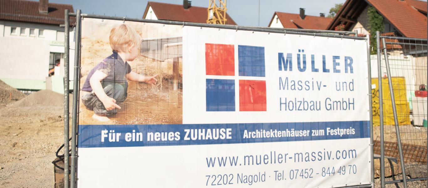 Aktuelle Bauprojekte Müller Massiv- und Holzbau